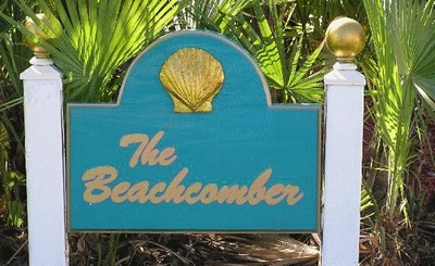 Beachcomber Lawn Sign